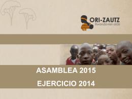 ASAMBLEA 2011 - ONG ORI