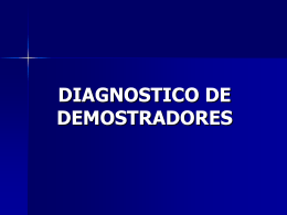 DIAGNOSTICO DE DEMOSTRADORES
