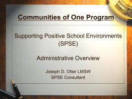 NYS-PBIS Administrative Overview