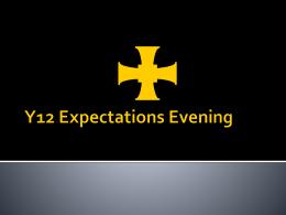 Y12 Expectations Evening - Trinity School, Carlisle