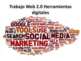 Trabajo Web 2.0 Herramientas digitales