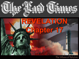 Revelation 17 - Powerpoint Paradise