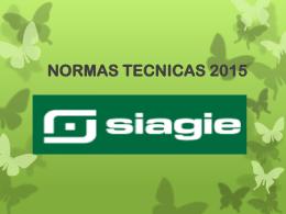 NORMAS TECNICAS 2015