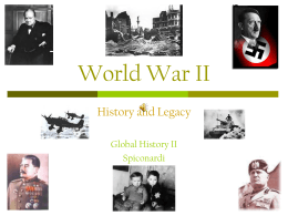 World War II - White Plains Public Schools