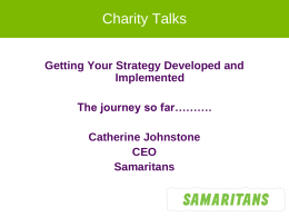 Catherine Johnstone's Presentation