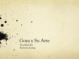 Goya y Su Arte