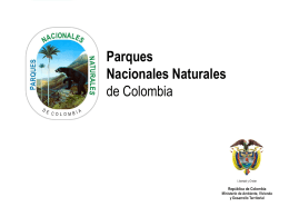 Diapositiva 1 - Parques Nacionales Naturales de Colombia
