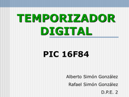 TEMPORIZADOR DIGITAL - INTEF
