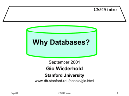 1. History - Stanford University