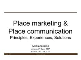 Vietas komunikacija - EUREG