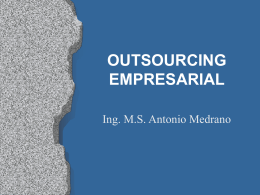 OUTSOURCING EMPRESARIAL
