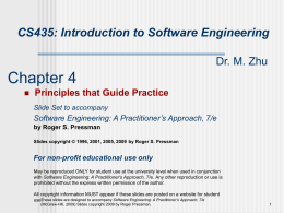Slide Set to accompany Web Engineering: A Practitioner