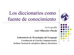 lexicografia