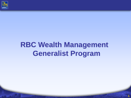RBC's Business Segments