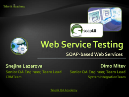 Tools for Performance, Load Testing, Stress Testing