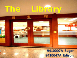 The Library - I-Shou University