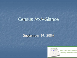 Census At-A-Glance