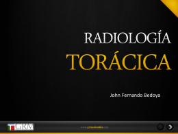 INTRODUCCION A LA RADIOLOGIA TORACICA