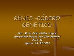 DERECHO GENETICO