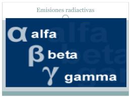 Emisiones Radiactivas
