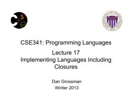 Programming Languages & Software Engineering