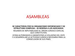 ASAMBLEAS - Franja Morada