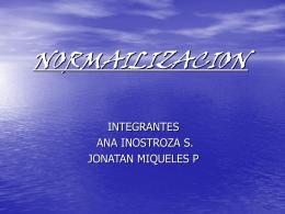 NORMAILIZACION
