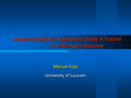 Developing Agent Systems for E