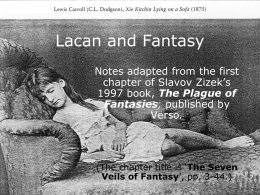 Lacan and Fantasy - University of Winchester