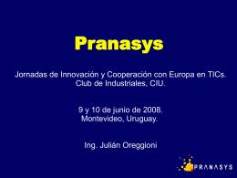 Pranasys Presentation