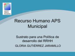 Recurso Humano APS