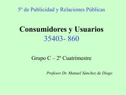 Consumidores y Usuarios 35403