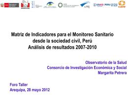 Diapositiva 1 - Observatorio del Derecho a la Salud