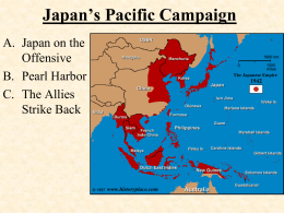 Japan's Pacific Campaign - Madera Unified School District