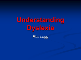Understanding Dyslexia - The Learning Staircase
