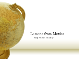 Lessons from Mexico - The Center for International