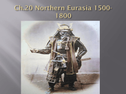 Ch.20 Northern Eurasia 1500-1800
