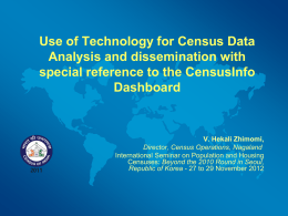 Use of Technology for Census Data Analysis and