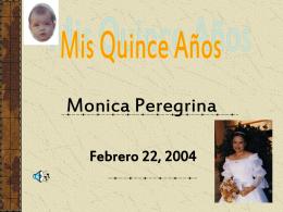 Monica Peregrina