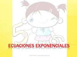 Ecuaciones exponenciales.