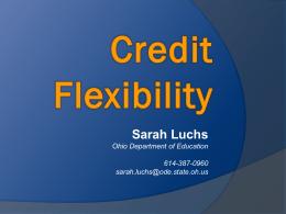 Credit Flexibility