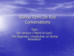 Remi De Roo Conversations