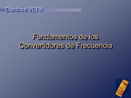 Fundamentos Convertidores de Frecuencia