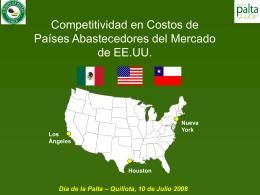 Competitividad en Costos de los Abastecedores del …