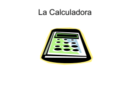 La Calculadora - Cobb Learning