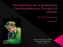 The Art of Questioning Creating Reflective, Thought