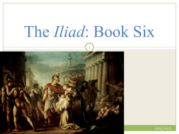 The Iliad: Book Six