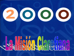 Misiones Claretianas en el mundo 2000