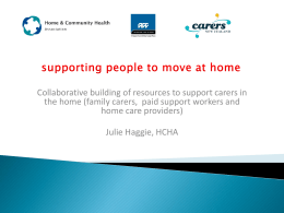 Home and Community Health Association