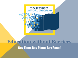Oxford Virtual Academy